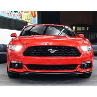 2015 福特 野馬 2.3 紅