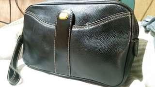 Original Dun hill clutch leather bag