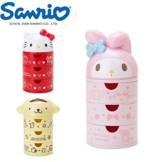 SANRIO MULTI PURPOSE DRAWER*STATIONERY*PAPER CLIP*POM POM PURIN*HELLO KITTY*MY MELODY*CUTE *FANCY