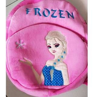 New Frozen soft backpack