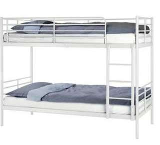 IKEA SVARTA Bunk Bed & Mattress