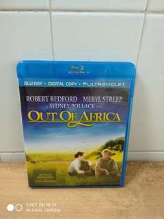 (Reserved) Out of Africa - Blu Ray - US import (original) - A Great Movie for all Classic Film lovers