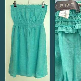 Tempt Strapless Dress 12