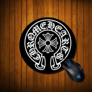 ★2 FOR $9.9 ★MMJ MASTERMIND MOUSE PAD ★ BATHING APE ★ ROUND BLACK ★