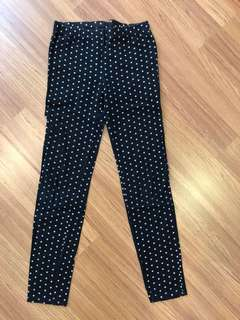 GAP polka dots pants