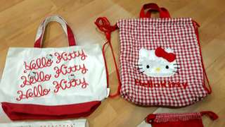 Price of 2 Hello Kitty Tote Bags