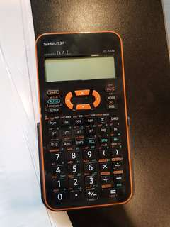 Sharp calculator EL-533X