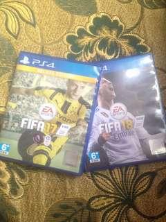 COMBO FIFA 17 FIFA 18 PS4