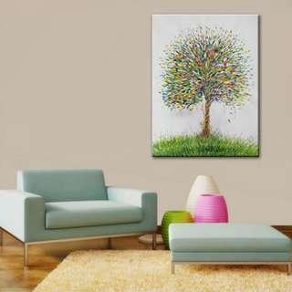 Tree of Life Oil Painting 60cm x 80cm