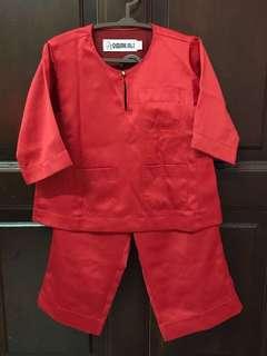 Omar Ali Baju Melayu (red) 03size