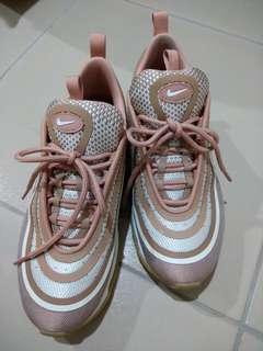 🚚 Nike air max 97 ultra 玫瑰金 二手