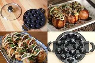 Cetakan kue  Takoyaki  15 lubang - Snack - Loyang