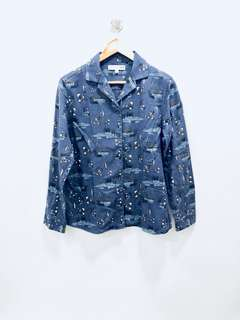 Uniqlo Aviary Coat-Like Top - Preloved, Excellent Condition