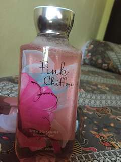 Shower gel pink chiffon