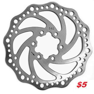 Used 6-bolt rotors For Bicycle, EScooter-------- (XTR M9020 XT M8020 M8000 M785 SLX M7000 M675 M315 MT2 MT5 MT5E MT7 MT8 Trail) Dyu
