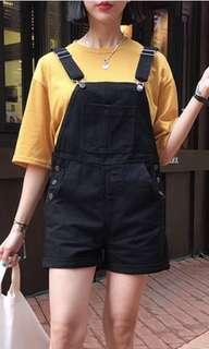 Korean oversized mustard shirt