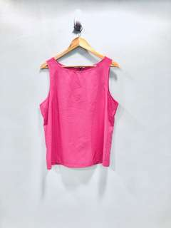 Pink Classic Sleeveless Top - Preloved, Excellent Condition