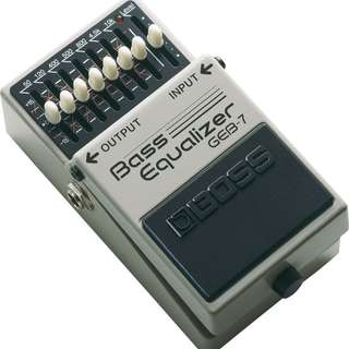 BOSS Bass Equaliser