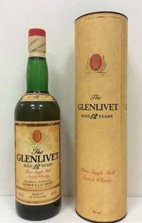 Glenlivet Pure Single Malt Scotch Whisky