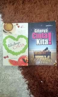 Combo Novel Melayu murah dan menarik