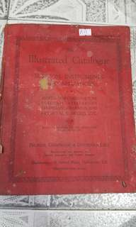1938 illustrated catalogue 320page all picture