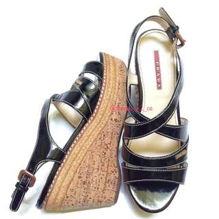 Prada wedges size 36