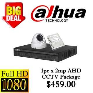 Dahua 1080P AHD CCTV Package 1