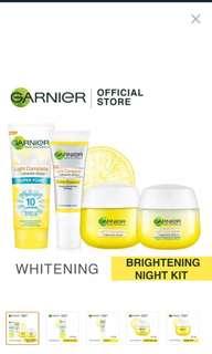 Garnier light complete set bebas kilap