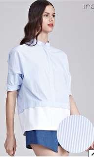 Twenty3 Medini Colour Block Long Sleeve Top