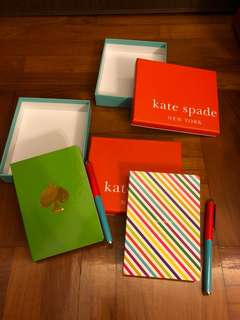 Kate Spade Notebook Sets (Mall Gift$