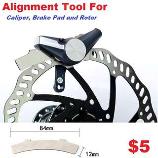 Brake Pad Alignment Tool, Rotor Alignment Tool--------- (XTR M9020 XT M8020 M8000 M785 SLX M7000 M675 M315 MT2 MT4 MT5 MT5E MT6 MT7 MT8 Trail) Dyu