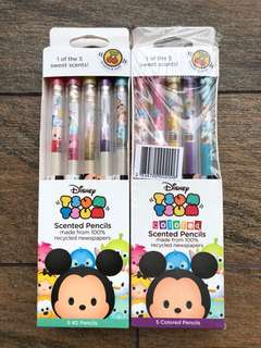 Tsum tsum Disney scented pencils