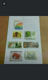 Singapore Stamps Collector's Item - UNUSED BRAND NEW Rare Whole  Lot - Nt Currency Notes