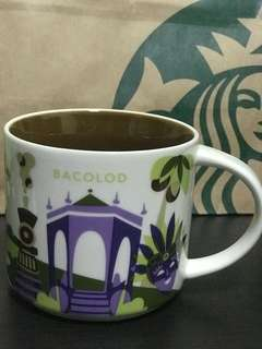 Starbucks Mug You Are Here (Bacolod)