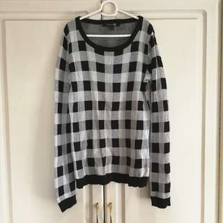F21 Checkered Long Sleeves