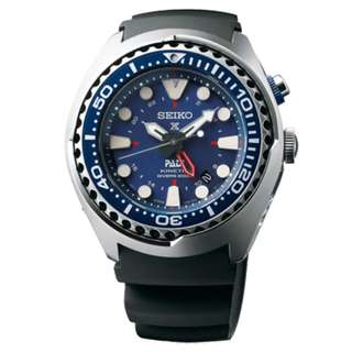 "精工 SEIKO PROSPEX KINETIC DIVER'S WATCH 潛水 SUN065P1 200M 防水 GMT ""PADI"" Edition SUN065-P1"