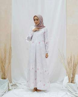 Amara dress sea rose from pacifia by wearing klamby