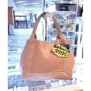 Balenciaga Dusty Pink Leather Navy Cabas S Small Size Shoulder Handbag Hand Bag 巴黎世家 粉紅色 羊皮 皮革 小號 手挽袋 手袋 肩袋 袋