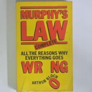MURPHY'S LAW - COMPLETE BY ARTHUR BLOCH