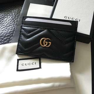 Gucci card holder 卡套 銀包 卡包 GG Marmont