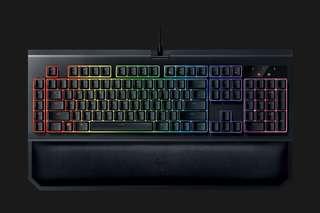 Razer keyboard Blackwidow Chroma V2 orange switch