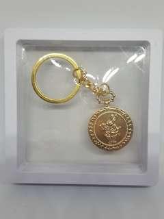 愛麗絲白兔先生鎖匙扣