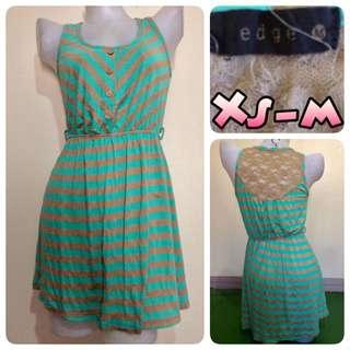 Edge Laceback Dress
