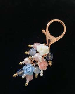 Beaded Fob/Keychain/Charm
