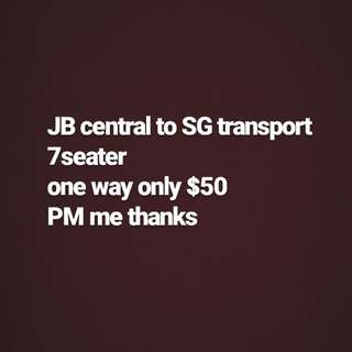 Jb to sg