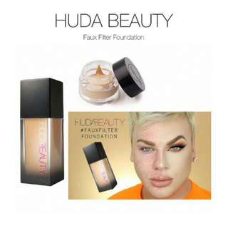 Huda beauty faux filter foundation share in jar 3ml