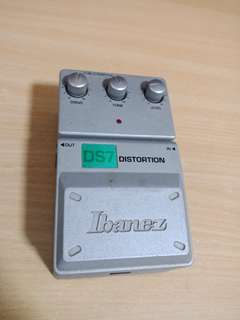 Ibanez ds7 distortion