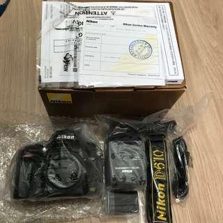 售 Nikon D610 99%成新