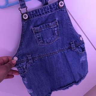 Zara Kids Denim Overall