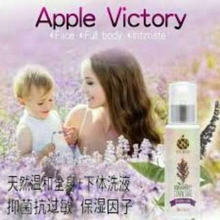Apple Victory Aromatherapy Clary SAGE Feminine Intimate Wash